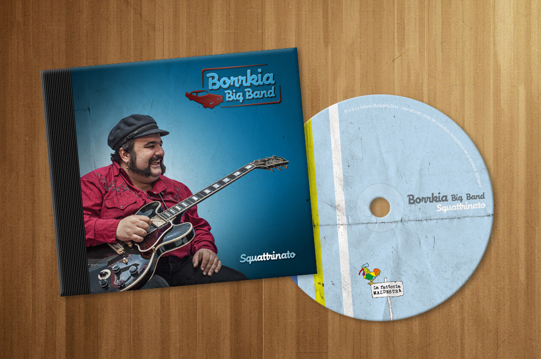"Borrkia Big Band ""Squattrinato"" – album artwork"