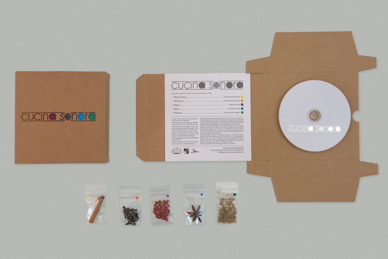 Cucina Sonora – EP artwork